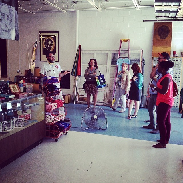 Nashville Print Shop Tour