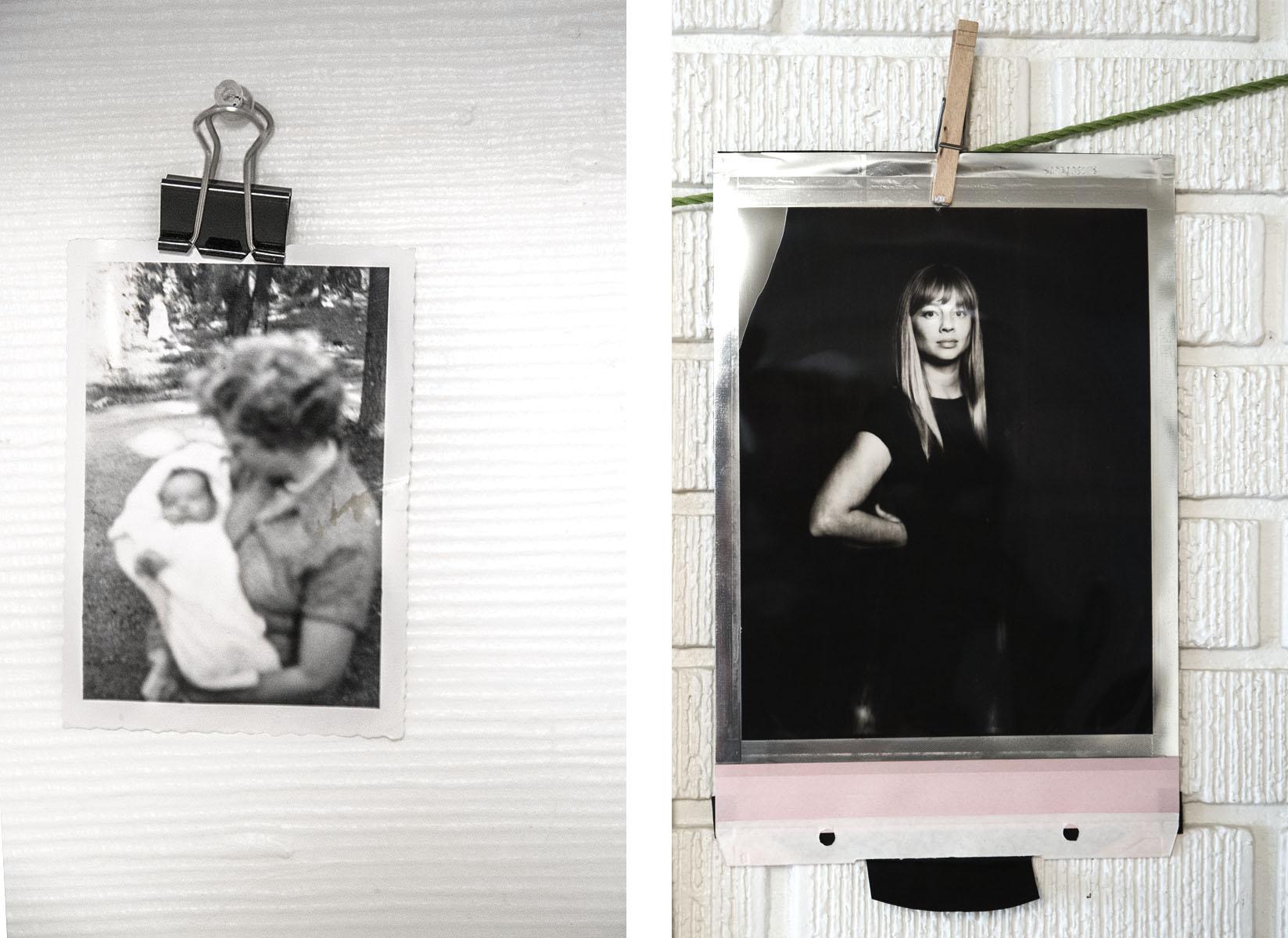 B&W Portraits Diptych