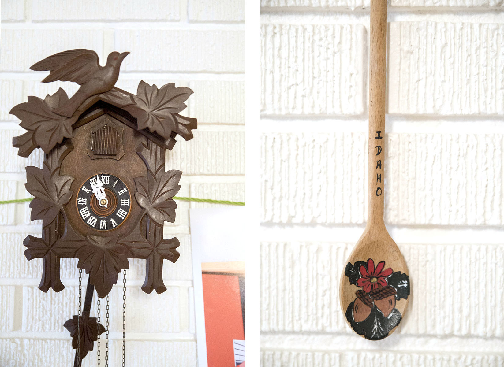 Wooden Items Diptych
